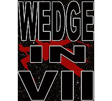 Wedge in VII - 1-1 Photographic Print