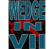 Wedge in VII - 1-3 Photographic Print