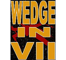Wedge in VII - 1-4 Photographic Print