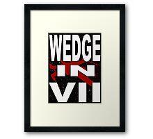 Wedge in VII - 1-5 Framed Print