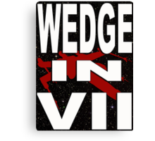 Wedge in VII - 1-5 Canvas Print