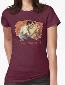 chet baker Womens Fitted T-Shirt
