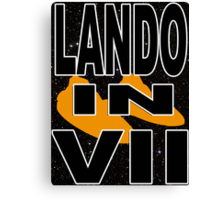 Lando in VII - 1-1 Canvas Print