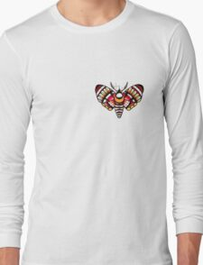 Flower Moth Tee Long Sleeve T-Shirt