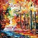 FALL ATTRACTION by Leonid  Afremov