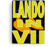 Lando in VII - 1-4 Canvas Print