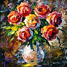 ROSES  by Leonid  Afremov