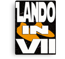 Lando in VII - 2-5 Canvas Print