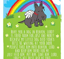 Have you a dog in heaven, Lord? by BonniePortraits
