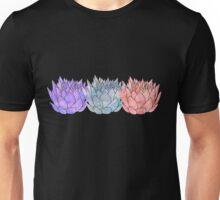Triple Lotus 2 Unisex T-Shirt