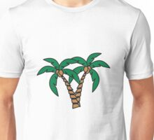Palm tree coconut group Unisex T-Shirt