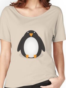 Penguin Cartoon Women's Relaxed Fit T-Shirt