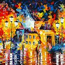 UNUSUAL CITY by Leonid  Afremov