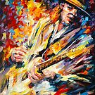 STEVIE RAY VAUGHAN by Leonid  Afremov