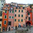 All About Italy. Piece 6 - Riomaggiore Houses by Igor Shrayer