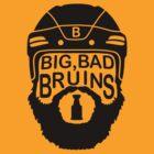 Big Bad Bruins Beard by Societee