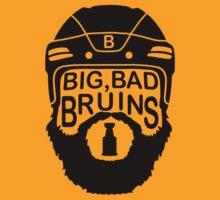 Big Bad Bruins Beard T-Shirt
