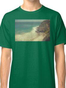 Vintage Malibu Beach Print Classic T-Shirt