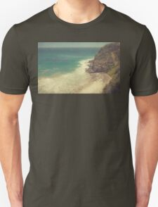 Vintage Malibu Beach Print Unisex T-Shirt