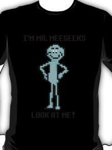 8 bit Mr. MeeSeeks T-Shirt