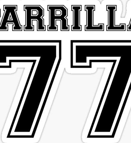 Parrilla 77 Sticker