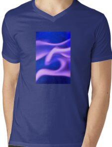 Ghost Flame Mens V-Neck T-Shirt