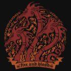 Targaryen 3 dragons by narwen