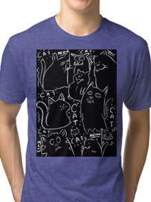 Cat Meow Tri-blend T-Shirt