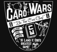 Cards Wars - Floop for Glory! (Adventure Time) (White) Kids Clothes