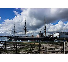 HMS Warrior Portsmouth Historic Docks Photographic Print