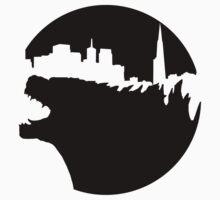 Godzilla by Zahaidies