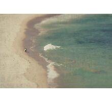 Lone Rider Photographic Print