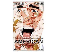 American Psycho Alternative Movie Poster Photographic Print