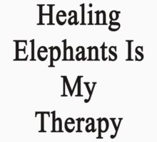 Healing Elephants Is My Therapy  by supernova23