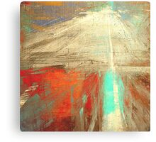 Old man and the Mountain Canvas Print