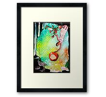 Artist and the Antidote Framed Print