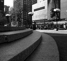 Union Square - Steps by Amanda Vontobel Photography