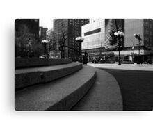 Union Square - Steps Canvas Print