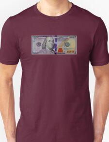 100 dollar bill Unisex T-Shirt