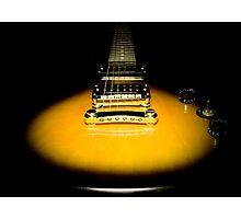 guitar yellow Photographic Print