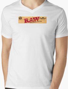 Raw Kingsize Mens V-Neck T-Shirt