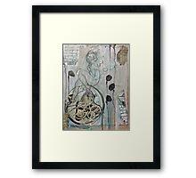 Like Clockwork Framed Print