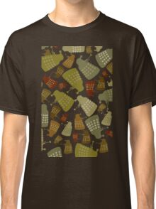 Doctor Who - Mini DALEK Camouflage Classic T-Shirt
