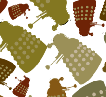 Doctor Who - Mini DALEK Camouflage Sticker