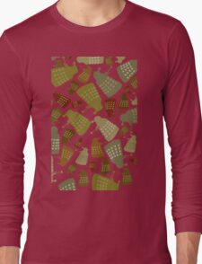 Doctor Who - DALEK Camouflage TEE Long Sleeve T-Shirt