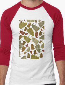 Doctor Who - DALEK Camouflage TEE Men's Baseball ¾ T-Shirt
