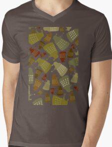 Doctor Who - DALEK Camouflage TEE Mens V-Neck T-Shirt