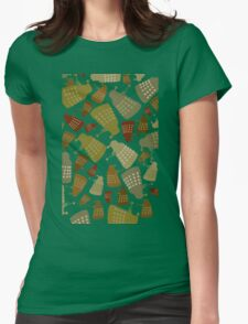 Doctor Who - DALEK Camouflage TEE Womens Fitted T-Shirt