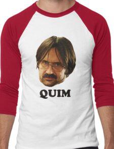 QUIM - Text Men's Baseball ¾ T-Shirt