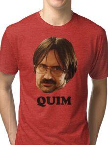 QUIM - Text Tri-blend T-Shirt